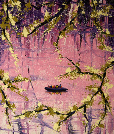 Plum tree, 2008-2009
