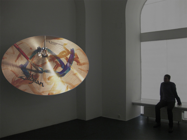 Dramatization Disc, video installation, 2010 05