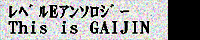 レベルEオールキャラアンソロジー「This is GAIJIN」width=